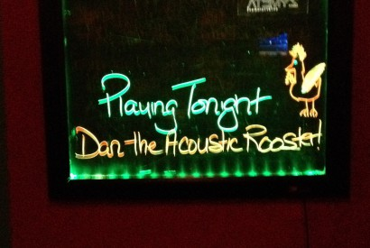 Acoustic Rooster Sign